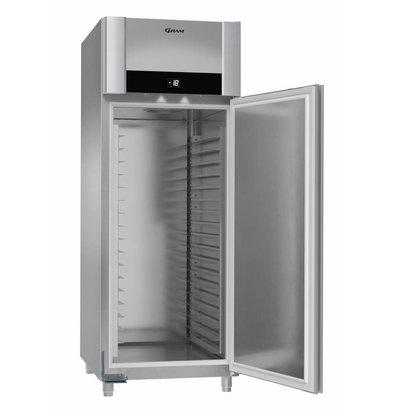 Gram Congélateur Boulangerie INOX | Gram F 950 CCG L2 25B | T -25/+10°C | 949L | 820x1065x2205(h)mm