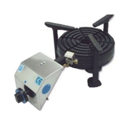 Diamond Brûleur   Gaz pour Paella   INOX   diam. 250mm   à Poser   10 kW   623x355x230(h)mm