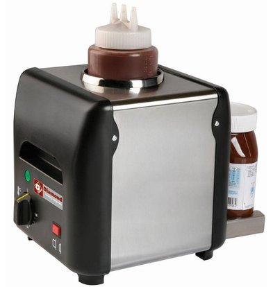 Diamond Chauffe Chocolat à Tartiner (ou Liquide, Miel, Sauces, Fromage) | 1 L | 225x175x(h)220mm | 170W