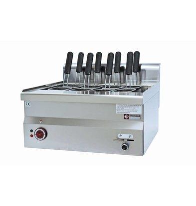 Diamond Cuiseur de Pates | Electrique | 30 Litres | de Table | 230V | 9kW | 600x600x(H)280/400mm