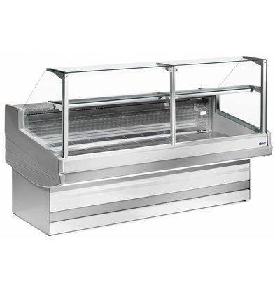 Diamond Comptoir Vitrine Réfrigérée | Elegance Plus | Vitre à Droite | 1040x(h)1300mm | 4 Largeurs