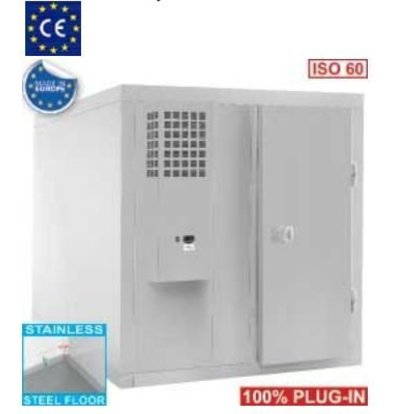 Diamond Chambre ISO 60 | avec Groupe | 900W | 1960x1960x2070(h)mm