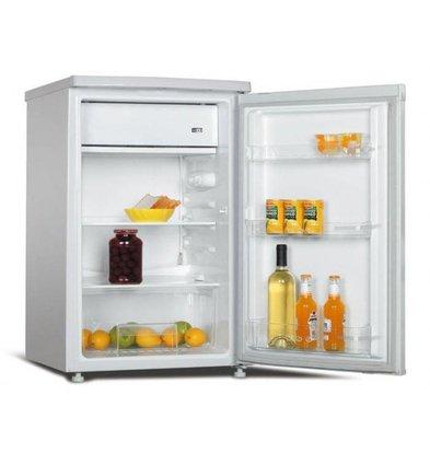 Exquisit Réfrigérateur Exquisit Blanc A+ | 97 Litres | avec Surgélateur 12L | 570x550x850(h)mm