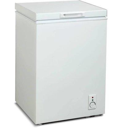 Exquisit Congélateur Blanc avec Paniers | Exquisit A+ | 100 Litres | 570x560x850(h)mm