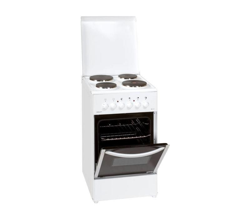 Exquisit Cuisinière | 4 Plaques | avec Four| Electrique | 500x550x850(h)mm