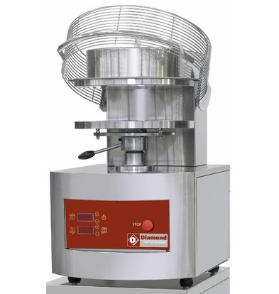 Diamond Formeuse pour pizzas | Ø 350 mm| 3,8 kW | 500x610x(h)770mm