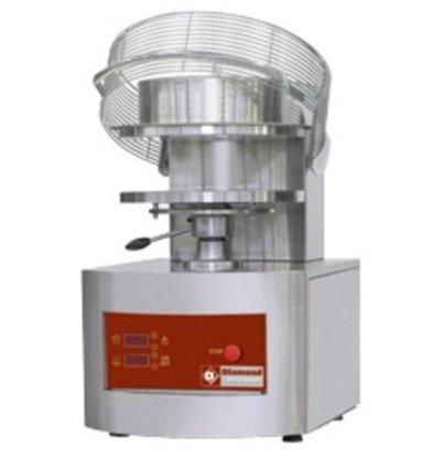 Diamond Formeuse pour pizzas | Ø 450 mm | 6,8 kW | 400V | 550x710x(h)845mm