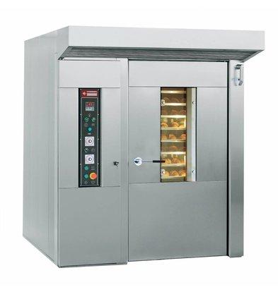 Diamond Four pour boulangerie et pâtisserie | Rotatif | 15/18 niveaux (600x800 mm) | 400v | 185x204x(h)254cm