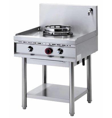 Diamond Fourneau wok 1 brûleur avec rideau d'eau | 1 x 15kW