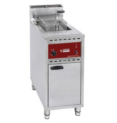 Diamond Friteuse Gaz| 16 Litres | Speed Fryer | sur meuble | 400x600x(h)1055mm
