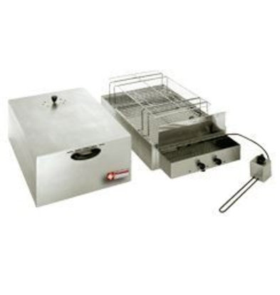 Diamond Fumoir électrique pour aliments, 2 étages | 400x600 mm + 340x545mm