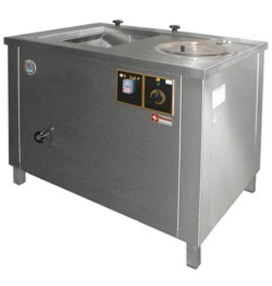 Diamond Lave-légumes et essoreuse à panier extractible | 100 Litres | inox | 1000x700x(h)800mm