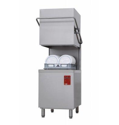 Diamond Lave-vaisselle Capot ECO | Panier  500x500mm | Cycle 60/120 sec | 230/400V | 710x818xh1530/2010(h)mm