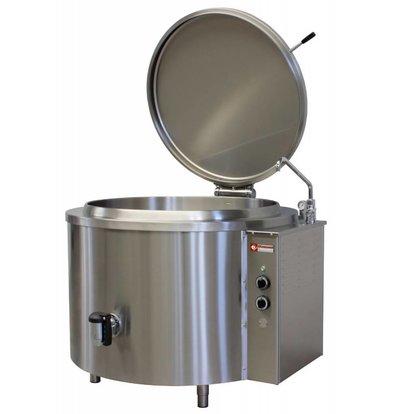 Diamond Marmite ronde électrique | 300 litres | chauffage indirect | 36kW/400V | Ø1200x900(h)mm