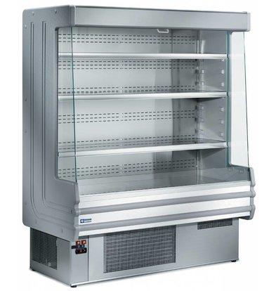 Diamond Meuble Réfrigéré 'Libre Service' Gris | +3/+6°C | avec Eclairage | Disponible en 3 Largeurs