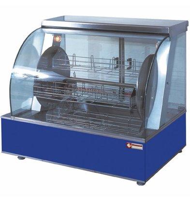 Diamond Rôtissoire électrique | modèle Comptoir | rotative | 4 paniers | 16-20 poulets | 940x590x(h)790mm | 5.4kW