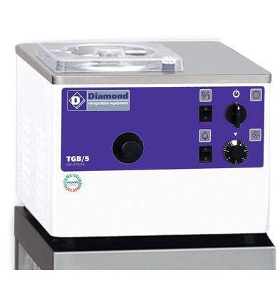 Diamond Turbine à glace verticale | 5litres/h | condenseur à air | modèle de Comptoir