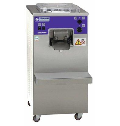 Diamond Turbine à glace verticale automatique | 20litres/h | condenseur à air | 400 volt