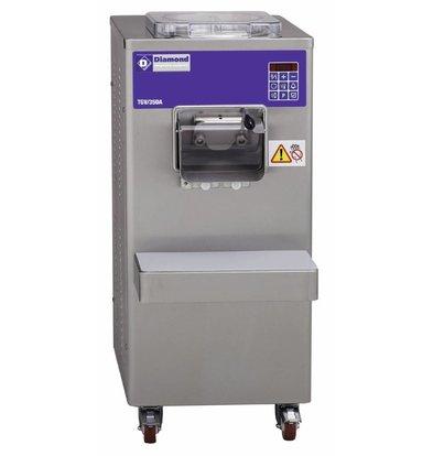 Diamond Turbine à glace verticale automatique | 35litres/h | condenseur à eau