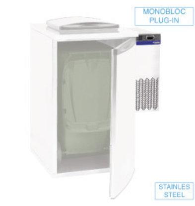 Diamond Unité Réfrégiré pour refroidisseur de déchets | Simple | 28x54x(h)74cm