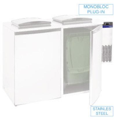 Diamond Unité Réfrégiré pour refroidisseur de déchets | Double | 28x54x(h)74