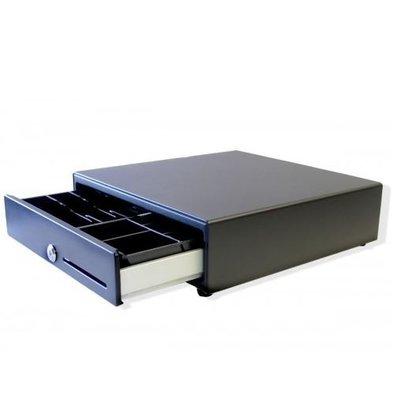 CHRselect Tiroir-Caisse | Avant Tactile | Noir | RED-335 | 8 Tiroirs Pièces - 6 Tiroirs à Billet| 335x335x90(h)mm