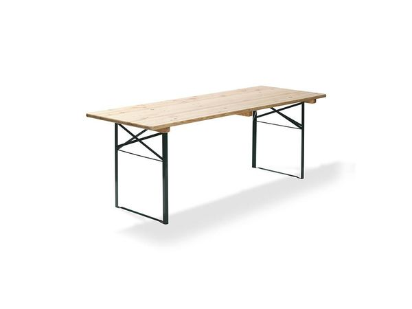 CHRselect Table de bière | Vert | 22 Kg |  L 220 cm - L 50 cm | Lot de 4