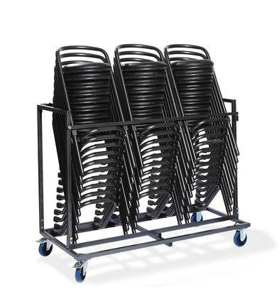 CHRselect Chariot Tabourets de Bar | Martelé | 750x153x(H)130mm