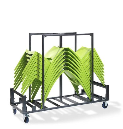 CHRselect Chariot Stack 30 |Martelé | 1810x660x(H)1500mm