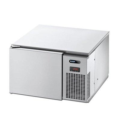 Afinox Cellule de Refroidissement Rapide | Refroidisseur | Congélateur | AMX BASIC ONE-S | Af| INOX | Capteur de Prise | 3 x GN2 - 4