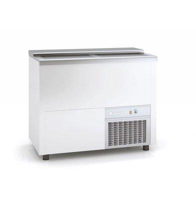 Coreco Bar Comptoir Réfrigéré   Couvercle Coulissant   BEG100-EA   102x55x(H)85cm