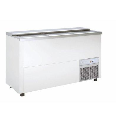 Coreco Bar Comptoir Réfrigéré   Couvercle Coulissant   BEG150-EA   151,5x55x(H)85cm