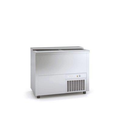 Coreco Bar Comptoir Réfrigéré     INOX   Couvercle Coulissant   BE100-I   101x55x(H)85cm