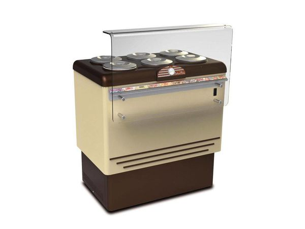 Framec Vitrine à Crèmes Glacées | DOLCE VITA 6 | Framec | 6+6 x 7,5 Litres | 96,5x66,5x(H)103cm