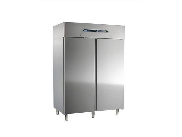 Afinox Réfrigérateur INOX   Mekano 1400 TN   R404a   Format GN2/1   1466x843x(H)2090mm
