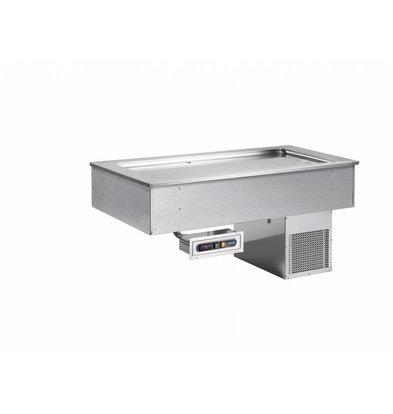 Afinox Bac Réfrigéré Statique | Drop-in | SOUL LIME | +4/+8 °C | Disponible en 5 Tailles