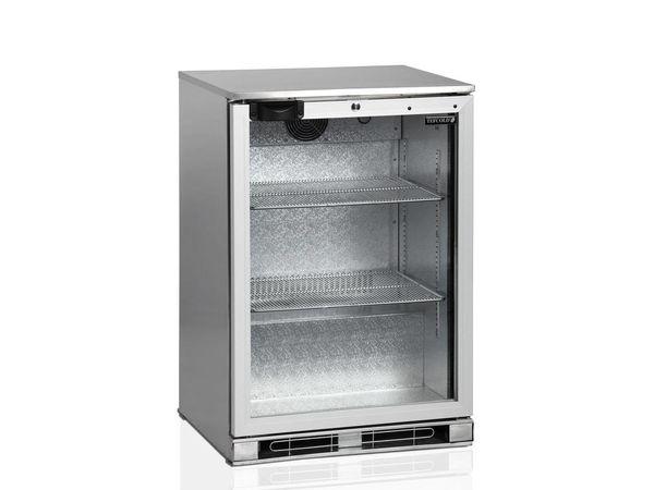 Esta Réfrigérateur Arrière-Bar | INOX | Porte Pivotante en Verre | BA15H R600a | Esta | 60x52x(H)87cm