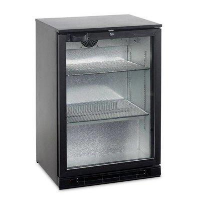Esta Réfrigérateur Arrière-Bar | Noir | Porte Pivotante en Verre | BA15H R600a | Esta | 60x52x(H)87cm