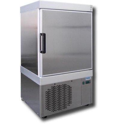 Tekna Congélateur à Crèmes Glacées | INOX | LAB 0040 NFA | pour 9x5 Litres | 67x64x(H)125cm