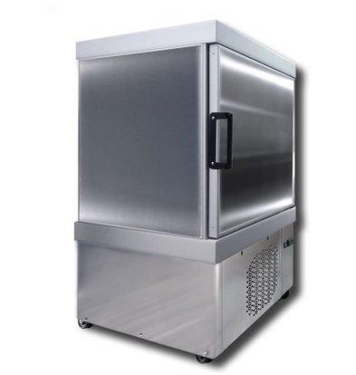 Tekna Congélateur à Crèmes Glacées | Gris | LAB 0090 NFA | pour 12x5 Litres | 90x64x(H)125cm