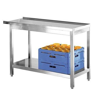 Modular Table d'entrée et de sortie INOX | 800mm
