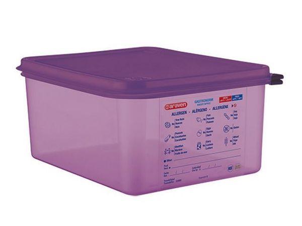 Araven Boites à Aliments Anti allergénique  1/2GN-150mm