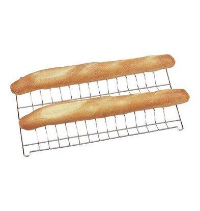 Unox Grille pour Baguettes | Chromé | 600x400mm