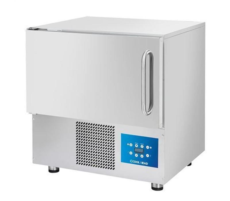 CaterCool Rapide Réfrigéré-Congélateur INOX | 760x700x(H)850mm | 5x 1/1 GN