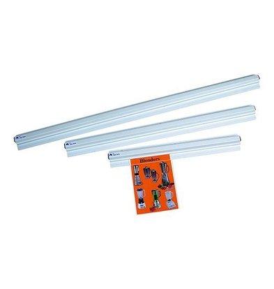 CHRselect Porte-Fiches Blanc Plastique - 750 mm