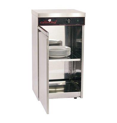 CaterChef Armoire Chauffante 60 Assiettes - 750W - 45x45x(H)85