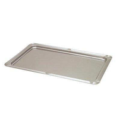 CHRselect Plat d'étalage 1/1GN INOX 18/0 | 530x325mm
