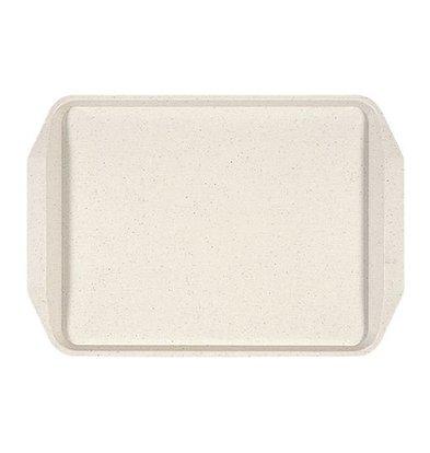 Roltex Plateau Roltex - Plastique - Écru - 435x305mm