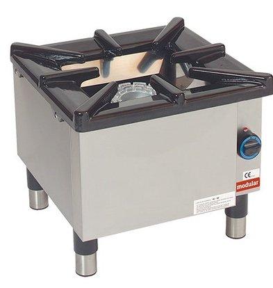 Modular Brûleur - Gaz - 55x55x(h)50cm - 8,8 kW