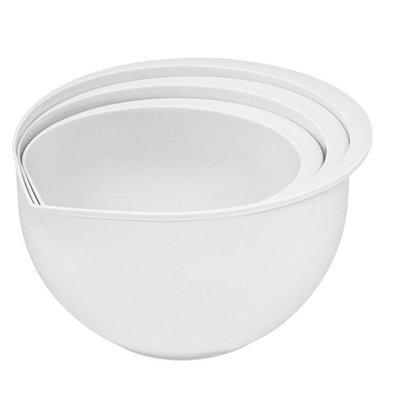 CHRselect Bassine de Cuisine Plastique| Set van 3 | 1,5/2/3 Litres